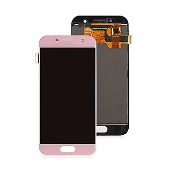 Stuff Certified ® Samsung Galaxy A3 2017 A320 Screen (Touchscreen + AMOLED + Parts) AAA + Quality - Pink