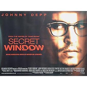 Secret Window Original Cinema Poster