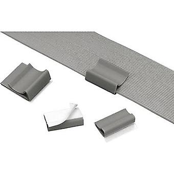 Cable mount for ribbon cable Grey Panduit FCC5-A-C8 1 pc(s)