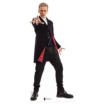 The 12th Doctor Who Peter Capaldi Mini Cardboard Cutout / Standee / Standup