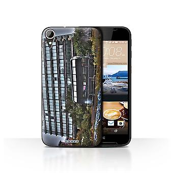STUFF4 Case/Cover for HTC Desire 830/Derelict Bus/London England