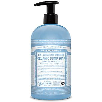 Dr Bronner's Shikakai Soap 709 Ml Master Case Count 12 Naked Unscented