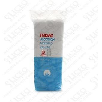 Indas Zig-Zag Cotton Indas (Hygiene and health , First Aid Kit , Gauze and cotton)