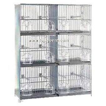 RSL Breeding cage White / Zincado (Birds , Bird Cages , Small Birds)