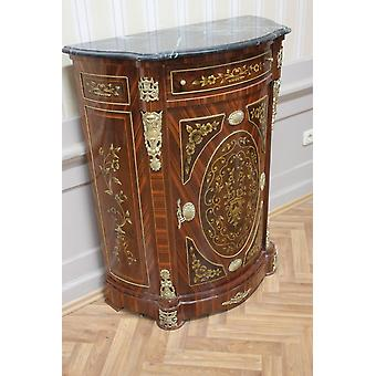 Buffet baroque style antique poitrine marbre antique style baroque Louis xv MkMo0015