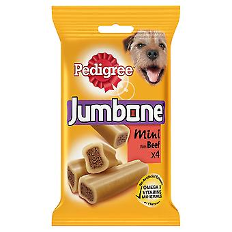 Stamtavla C & t Jumbone liten hund nötkött 4pc (x 8)