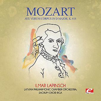 Mozart - Ave Verum Corpus i D stora K. 618 USA import