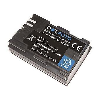 Dot.Foto Canon LP-E6N batteri - 7.4V / 1865mAh