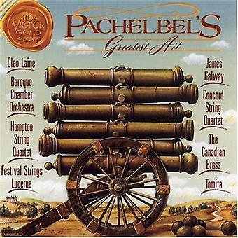 J. Pachelbel - Pachelbel's Greatest Hit: Canon in D [CD] USA import