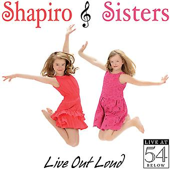 Shapiro søstre - Live Out Loud: Live på 54 nedenfor [CD] USA import