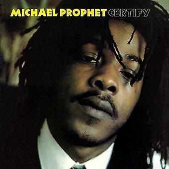 Michael profet - certificere [Vinyl] USA import
