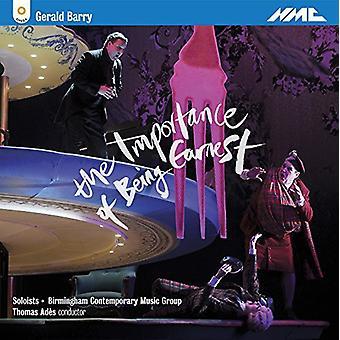 Barbara Hannigan - Gerald Barry: The vigtigheden af at være Earnest [CD] USA import