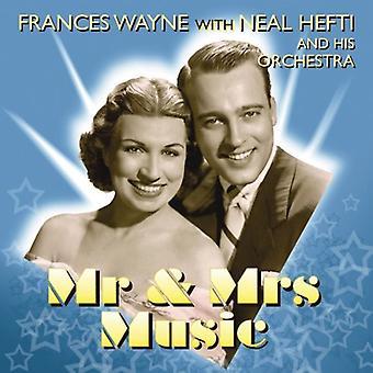 Wayne/Hefti - importación de Estados Unidos el Sr. y la Sra. música [CD]