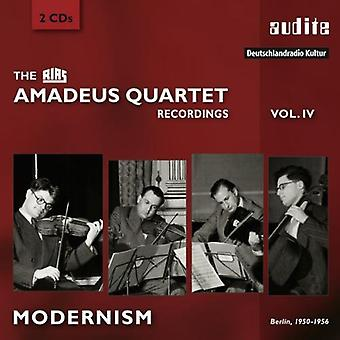Britten / Rias Amadeus Quartet - Rias Amadeus Quartet Recordings 4 - Modernism [CD] USA import