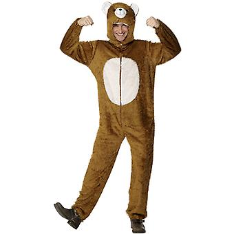 Bärkostüm Bär Kostüm Zoo Karneval Tierkostüm