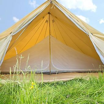Boutique Camping 5m Inner Tent For A Bell Tent - Double Compartment