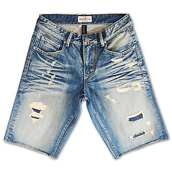 Rivet De Cru Salmon Dream Denim Shorts