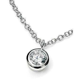925 Silber Crystal für Halskette