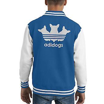 Adidogs Kid Varsity Jacket