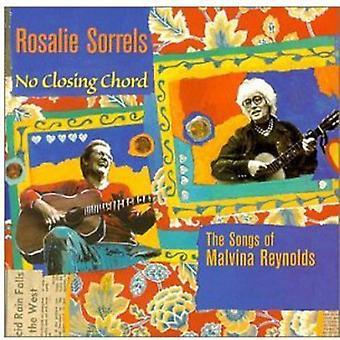 Rosalie Sorrels - No Closing Chord-Songs of Malv [CD] USA import