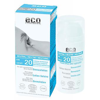 Eco Cosmetics Sunscreen Lotion Neutral Fps20, 100Ml