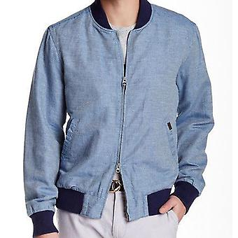 GANT The Drifter Mens Bomber Jacket - Blue