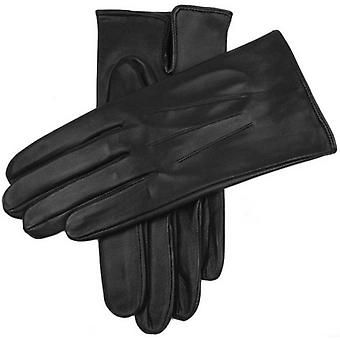 Dents Milton Unlined Hairsheep Leather Gloves - Black