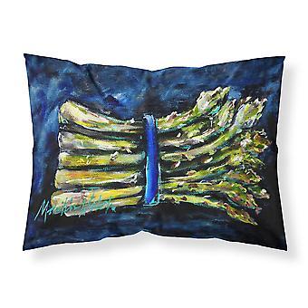 キャロラインズ宝物 MW1218PILLOWCASE Asperagus 吹いたファブリックの標準的な枕