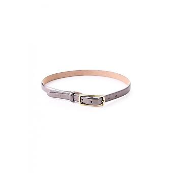 Paul Smith Accessories Womens Paul Smith Womens Metallic Slim Belt