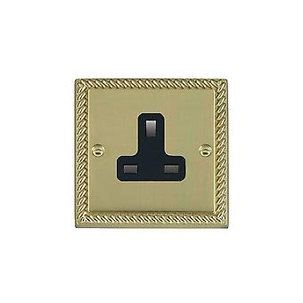 Hamilton Litestat Cheriton Georgian Polished Brass 1g 13A Unswt Skt BL