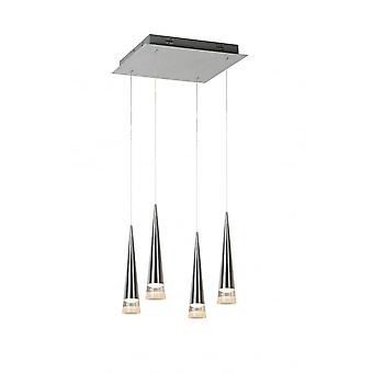 Lucide REIKO  Pendant LED 4x5W Dimmable 1700LM 2700K