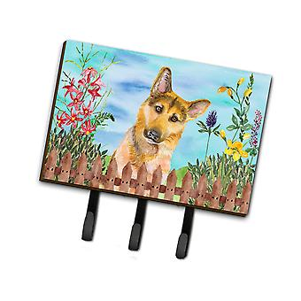Carolines Treasures  CK1273TH68 German Shepherd #2 Spring Leash or Key Holder