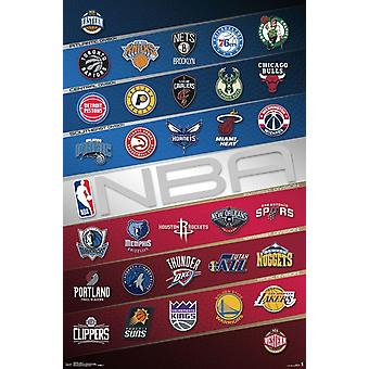 NBA - logo Poster Print