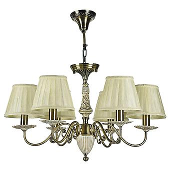 Maytoni Lighting Battista Royal Classic Collection Chandelier , Bronze