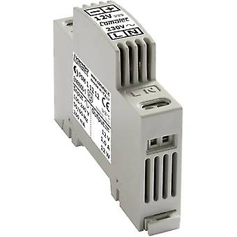 Rail mounted PSU (DIN) Comatec PSM11212 12 Vdc 1 A