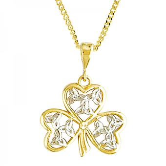 Shipton and Co Ladies Shipton And Co 9ct Yellow Gold Pendant Including A 20 9ct Yellow Gold Chain TAR448NS