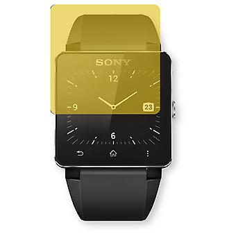 Sony SmartWatch 2 screen protector - Golebo view protective film protective film