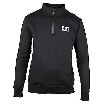 Caterpillar Mens C1910004 Canyon kwartaal Zip sweater