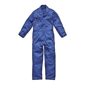 Dickies Mens Workwear Deluxe Coverall Royal Blue WD4879TRO