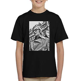 Michael Caine 1971 Get Carter Classic Shot Newcastle Upon Tyne Kid's T-Shirt
