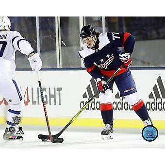 TJ Oshie 2018 NHL Stadium Series Photo Print