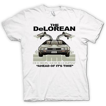 Womens T-shirt - Delorean - der seiner Zeit voraus