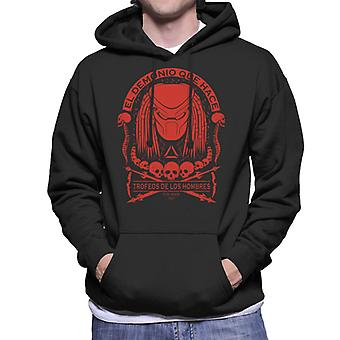 Predator skallen Collector Mäns Hooded Sweatshirt