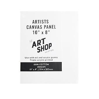 """Art Shop Skipton konstnärerna Canvas Panel 10 x 8 """""""