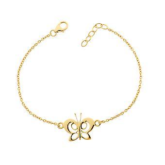 Orphelia Silver 925 Bracelet Gold Butterfly  ZA-7074/1