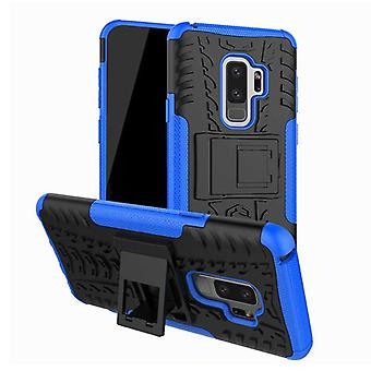 Hybrid case 2 piece SWL outdoor blue for Samsung Galaxy S9 plus G965F bag cover