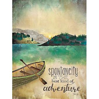 Adventure Poster Print by Marla Rae (12 x 16)