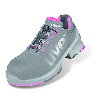 Uvex 8562.8 1 Size 6 Ladies Safety Trainers S2 Grey/Pink
