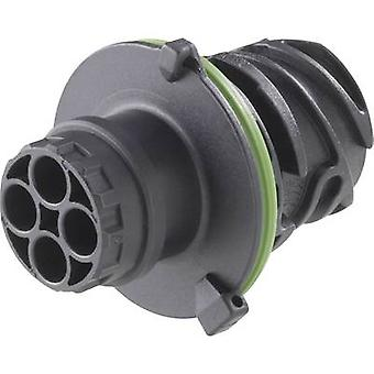 TE Connectivity 1-967402-3 Bullet connector Plug, straight Series (connectors): DIN 72585 Total number of pins: 2 1 pc(s)