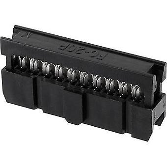 ECON connecter espacement des broches connecteur Contact: 2,54 mm nombre de broches: 8 n° de lignes: 2 1 PC (s) plateau
